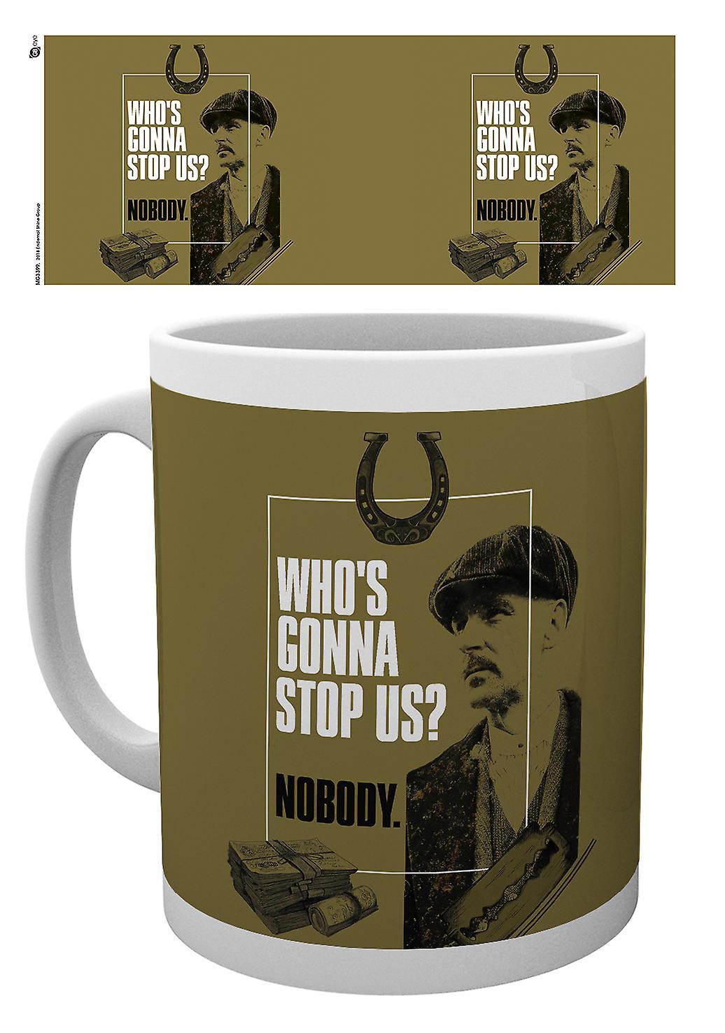 Abgemagerter Scheuklappen, Gonna Stop uns Mug
