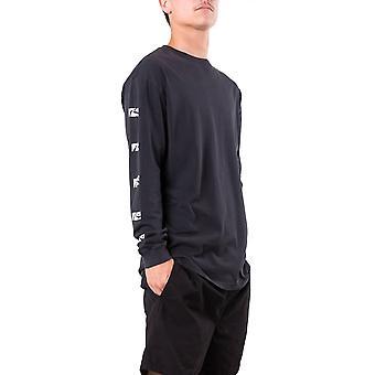 Rusty Comp Box Long Sleeve T-Shirt in Black