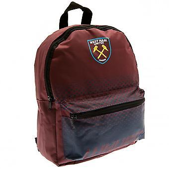 West Ham United FC Kinder/Fade Design Kinderrucksack