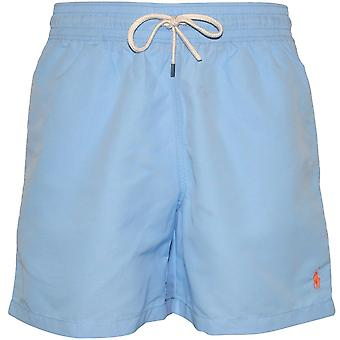 Polo Ralph Lauren Slim-Fit Traveller simma Shorts, Baby Blå