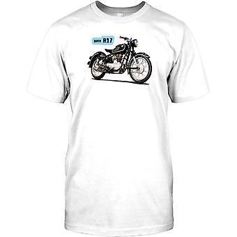 BMW R27-Klassinen saksalainen pyörä Miesten T-paita