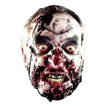 Zombie Halloween Card Fancy Dress Mask