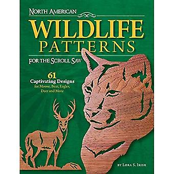 Nordamerikanske Wildlife mønstre for bla så: 61 fengende design for elg, bjørn, ørn, hjort og mer