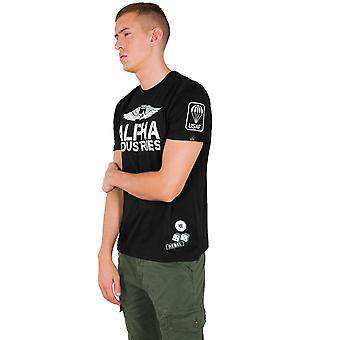 Alpha Industries férfi T-shirt Rebel