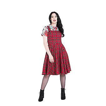 Hell Bunny Irvine Pinafore Dress