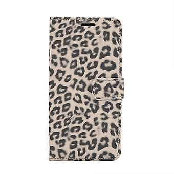 Samsung Galaxy S10 + Brieftasche Fall Leopard Cover-Beige