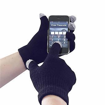 sUw - Touchscreen Knit Glove Navy SM