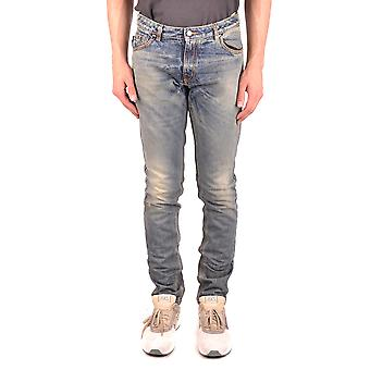 Tom Rebl Ezbc151006 Men's Light Blue Denim Jeans