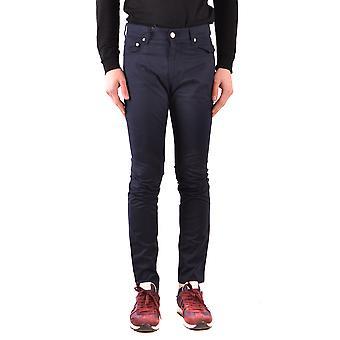 Moschino Ezbc015078 Men's Blue Denim Jeans
