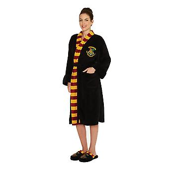 Women's Harry Potter Hogwarts Crest Adult Dressing Gown  - ONE SIZE