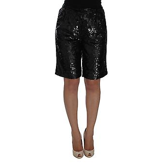Sequined above knees shorts