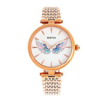 צמיד ברטה מייקה שעונים-רוז גולד