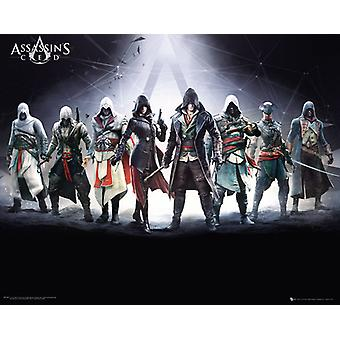 Assassins Creed tegn Mini plakat 40x50cm