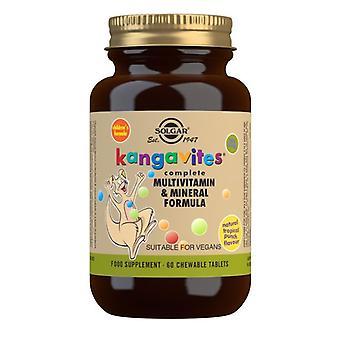 Solgar Kangavites Tropical Punch Chewable Tabs 60 (1018)
