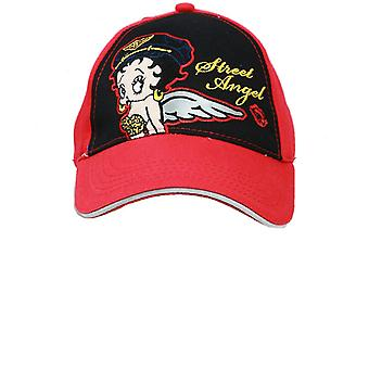 Baseball Cap - Betty Boop - Red Wings (Youth/Kids) New Hat boop696