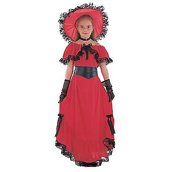 Bristol Novelty Childrens/Girls Scarlett Costume