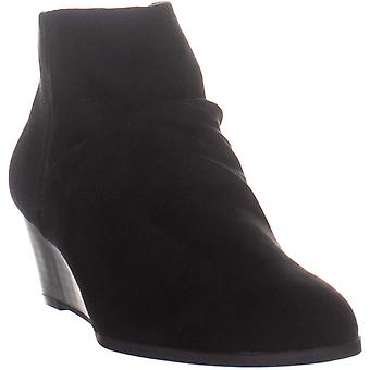 Style & Co. Womens ginnahf Suede Almond Toe Ankle Platform Boots