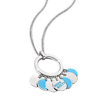 Miss Sixty Paillettes Turquoise Necklace  SMSC08