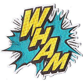 Patch - DC Comic - Batman - Wham! Comic Iron On Gifts Toys New p-dc-0066