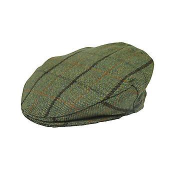 Platino Dunwood Tweed Flat Cap - Tweed 1
