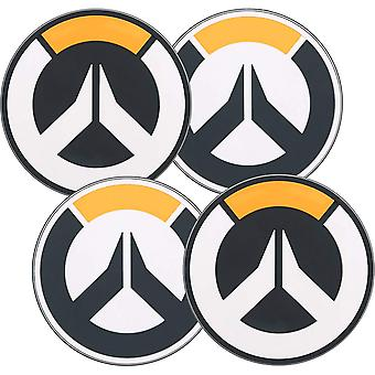 Coasters-Overwatch-logo 4-Pack novo j8917