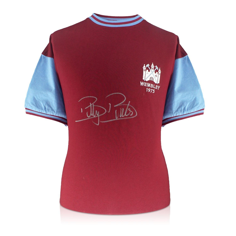 Billy Bonds Signed West Ham Shirt. 1975 FA Cup Final