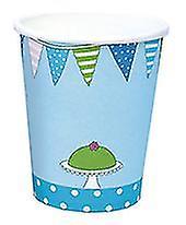 Jabadabado Geburtstag Cup Blau (Babys und Kinder , Kostüme)