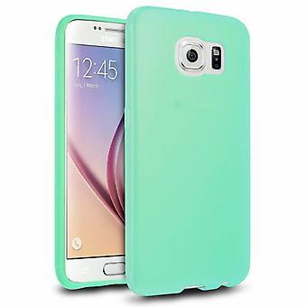Samsung Galaxy S6 tilfelle silikon turkis - CoolSkin3T