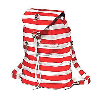 Packable Backpack - Invicta Minisac - 8 Lt - Red - Resealable and Pocket - Travel & Leisure