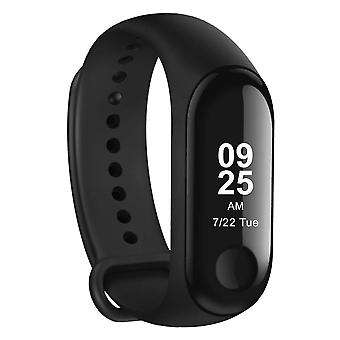 Xiaomi Mi Band 3 Bluetooth Activity Tracker, Ceas de fitness impermeabil cu monitor cardiac, notificări pedometru & mesagerie, Android și iOS – Grafit Negru