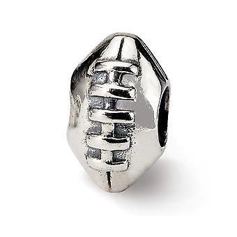 925 Sterling Sølv Polerte Refleksjoner SimStars Fotball Perle Sjarm Anheng Halskjede Smykker Gaver til Kvinner