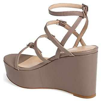Charles David Womens Penelope Leather Open Toe Casual Strappy Sandals