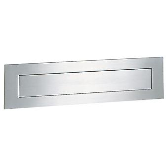 Serafini postbox L 400 mm - stal szlachetna V4A 8 x 40 x 0,3 cm