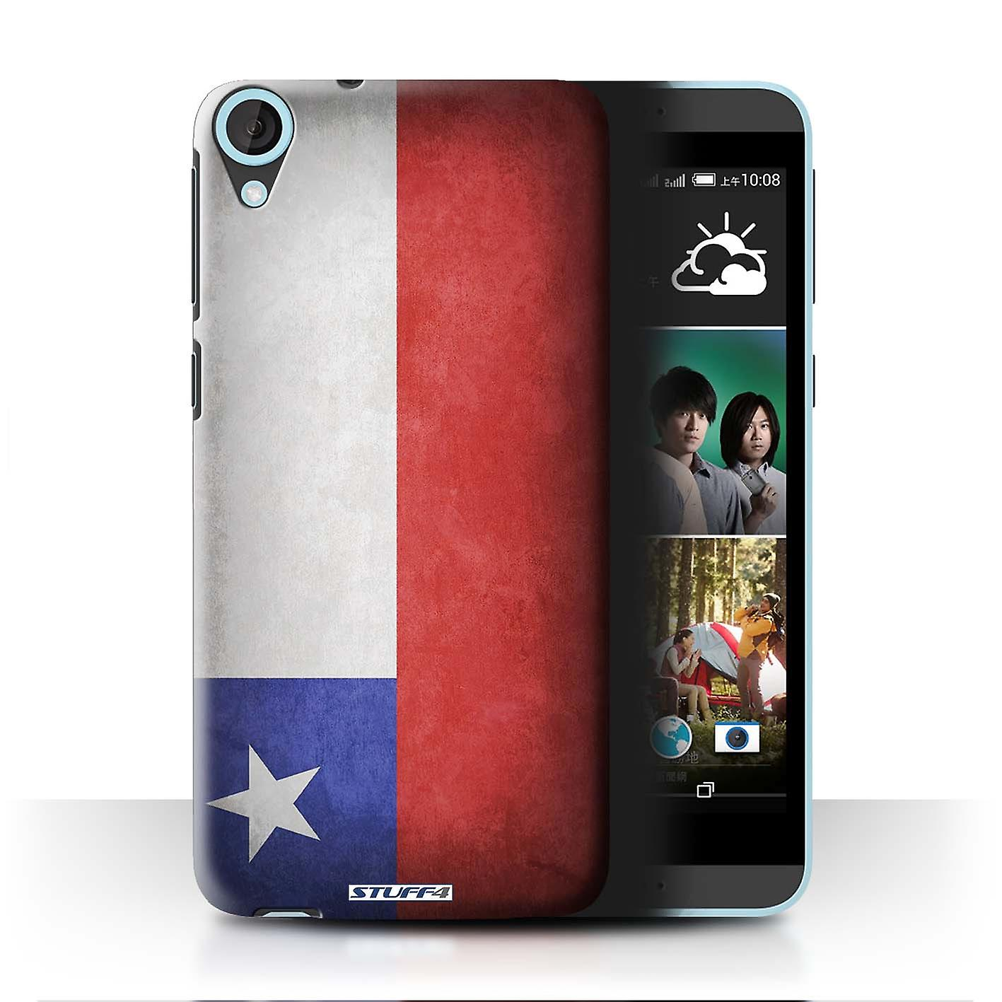 STUFF4 Case/Cover for HTC Desire 820s Dual/Chile/Chiliean/Flags