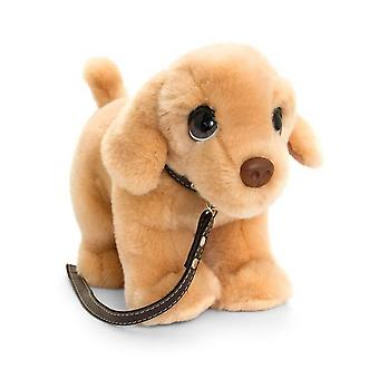 Keel Toys Signature Cuddle Labrador Puppy On Lead