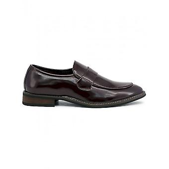 Duca di Morrone - Chaussures - Mocassins - ANDY-BURGUNDY - Hommes - marron - 46