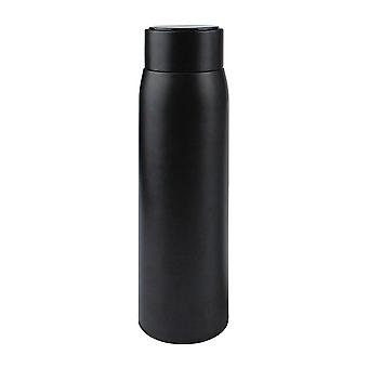 Thermal bottle showing temperature, 450 ml-black