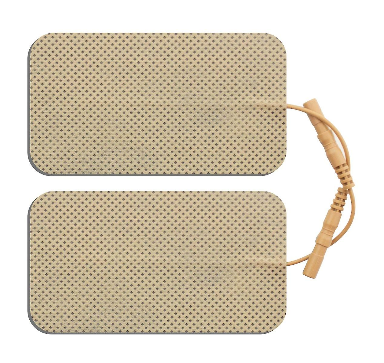 Med-Fit Blue Electrodes for Sensitive Skin 5x9cm with new chart
