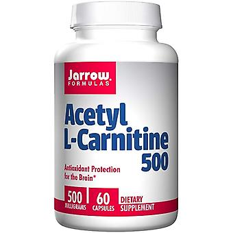 Acetyl L-carnitine 500 mg (60 vegetarische capsules)-Jarrow formules
