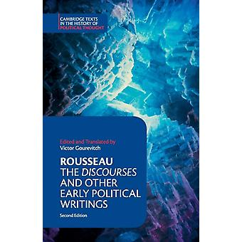 Rousseau The Discourses and Other Early Political Writings by JeanJacques Rousseau