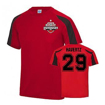 Kai Havertz Bayer Leverkusen Sports træningstrøje (rød)