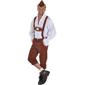 Men costumes  Pants bavarian edelweiss