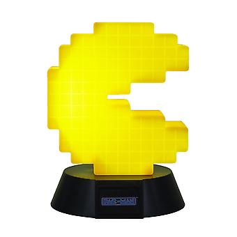 PAC-MAN lamp yellow/black, made of plastic, comes in gift box, incl. USB cable.