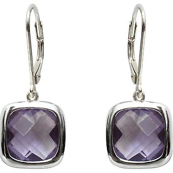 Earrings Clio Blue BO1098A - earrings Sissi Violet silver woman