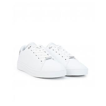 Ted Baker Zenis Metallic Back Leather Trainers