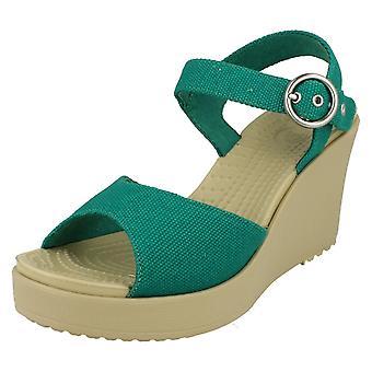 Sandalo con zeppa di Ladies Crocs