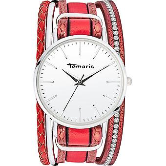 Tamaris - Wristwatch - Women - TW110 - silver, red