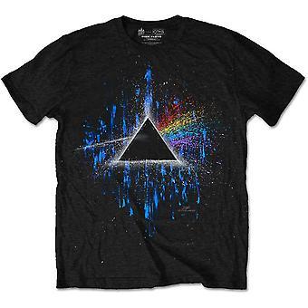 Pink Floyd mörka sidan av månen Paint officiella T-shirt