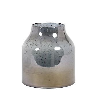 Lys & Levende Vase 24x25cm Sonala Glass Stone Finish Blå