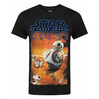 Star Wars The Force Awakens BB-8 Juliste Miesten's T-paita